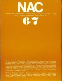 NAC. Giugno-Luglio 1974. Numero 6/7.