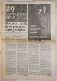 image of GCN: Gay Community News; the weekly for lesbians and gay males; vol. 18, #37, April 9-15, 1991: Ohio Domestic Violence Law