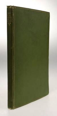 London: Morrison & Gibb, at the Sign of the Unicorn, 1899. First edition. First edition. Original gr...