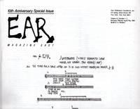 EAR Magazine East - Volume 8, Number 1-2: \