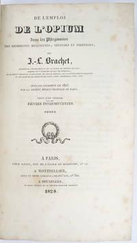 image of De l'emploi de l'opium dans les phlegmasies des membranes muqueuses, séreuses et fibreuses [...] suivi d'un mémoire sur les fièvres intermittentes.