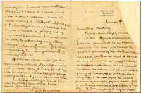 """[Autograph Letter, Signed (""""S.L. Clemens""""), to Mrs. Hookway]"""