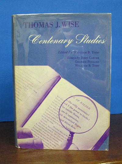 Austin: University of Texas Press, 1959. 2nd printing. Blue cloth binding. Dust jacket. VG+/VG. 128 ...