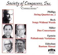 image of Society of Composers, Inc. [SCI] - Connections [COMPACT DISC]
