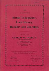 1985 - Catalogue 98 - British Topography, Local History, Heraldry and  genealogy.