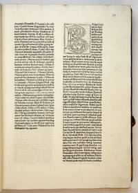 Glossaeex illustrissimis auctoribus collectae by  attributed to  Bishop of Constance and Abbot of St. Gall - Hardcover - from Riverrun Books & Manuscripts (SKU: 401719)
