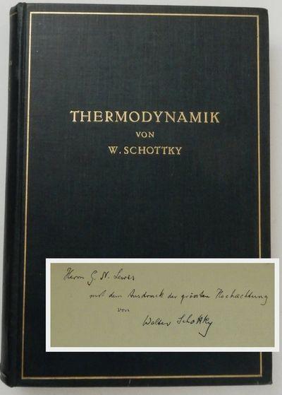 Berlin: Julius Springer, 1929. First Edition. Cloth. Very Good. First Edition. xxvi, 619, , folding ...