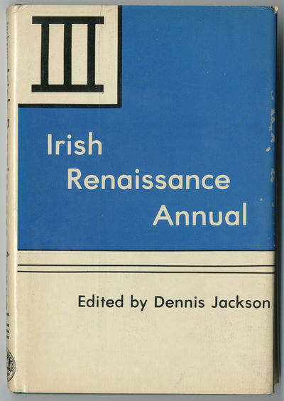 Newark, DE: Univ. of Delaware Press, 1982. Gilt green cloth. First US edition. Obtrusive ownership i...