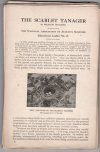Sixteen Educational Leaflets, National Association of Audubon Societies Educational Leaflet Series