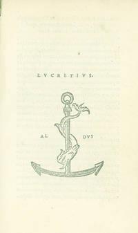 Lvcretivs [De Rerum Natura]