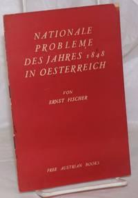 image of Nationale Probleme des Jahres 1848 in Oesterreich