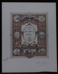 The United States of America [Visual History of Nations series] Signed Lithograph