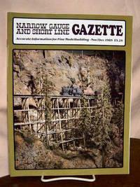 image of NARROW GAUGE AND SHORT LINE GAZETTE - NOVEMBER/DECEMBER, 1985; VOLUME 11, NUMBER 5.