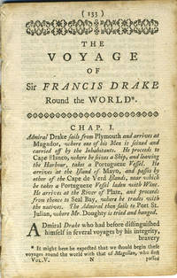 image of The Voyage of Sir Francis Drake Round the World; Chapters 1 - 3 from The World Displayed or, a Curious Collection of Voyages and Travels, selected from the Writers of all Nations