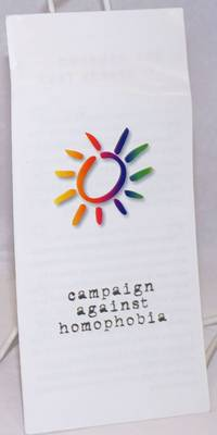 image of Campaign Against Homophobia [brochure]