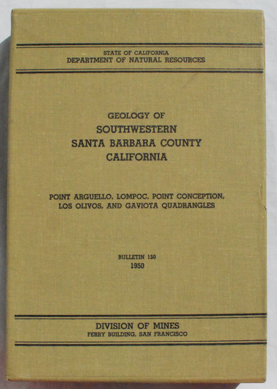 San Francisco, CA: State of California Department of Natural Resources, Division of Mines, 1950. Lik...
