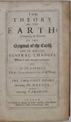 View Image 2 of 6 for THE THEORY OF THE EARTH: Containing an Account of the Original of the Earth, and of all the General ... Inventory #019728
