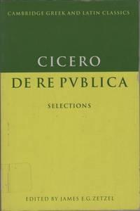 Cicero: De re Publica: Selections