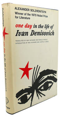 ONE DAY IN THE LIFE OF IVAN DENISOVICH by Alexander Solzhenitsyn - Hardcover - Ninth Printing - 1963 - from Rare Book Cellar and Biblio.com