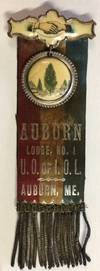 View Image 1 of 3 for Auburn Lodge, No. 1 / UO of IOL / Auburn, ME  Inventory #246582