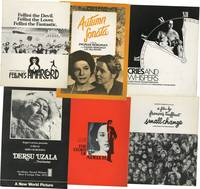 Collection of pressbooks for international arthouse releases in the 1970s via New World Pictures