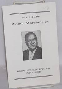image of For Bishop Arthur Marshall, Jr.