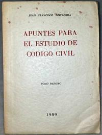 image of Apuntes Para El Estudio De Codigo Civil