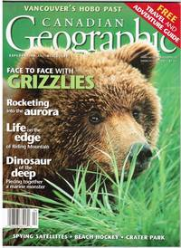 image of CANADIAN GEOGRAPHIC: FACE TO FACE WITH GRIZZLIES