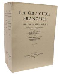La Gravure française, essai de bibliographie. Avant-propos de Joseph Guibert.
