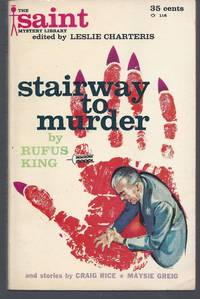 image of Stairway to Murder (The Saint Mystery Library #1; Leslie Charteris, Editor)