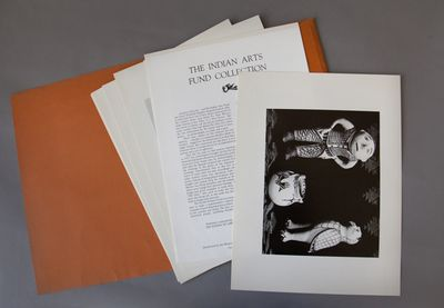 Museum of New Mexico Press, Santa Fe, 1970. Very good. 12 1/4 x 9 1/2 inches, wrappers, 12 leaves o...