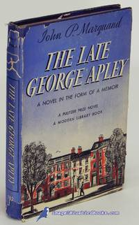 image of The Late George Apley: A Novel in the Form of a Memoir (Modern Library  #182.2)