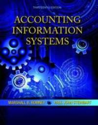 Accounting Information Systems By Romney Marshall B Steinbart Paul J