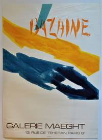BAZAINE  Galerie Maeght (Lithograph Exhibition Poster)