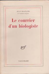 Le Courrier d\'un Biologiste (Mail from a Biologist)