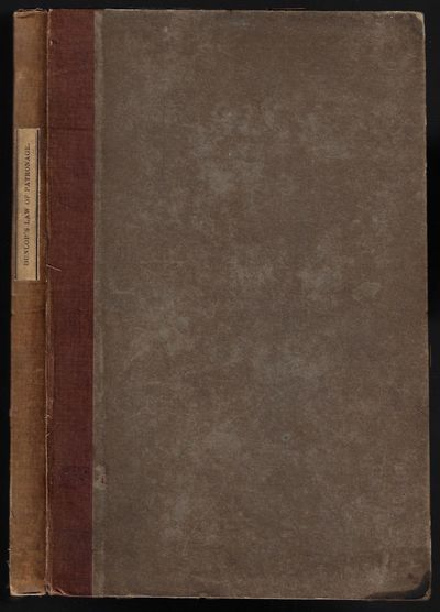 Edinburgh and London: William Blackwood and T. Cadell, 1833. First Edition. Hardcover. Good+. 8vo, 1...