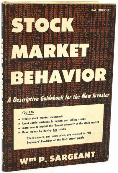 New York: Exposition Press, 1960. Third Printing. Hard Cover. Very Good binding/Very Good dust jacke...