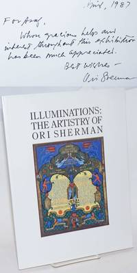 Illuminations: The Artistry of Ori Sherman. April 13 - June 13, 1987