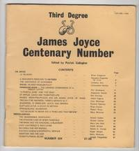 Third Degree:  James Joyce Centenary Number; Number 6
