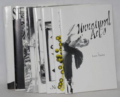 Leesburg, VA: TAL Publications, 1994. Eight chapbooks, various pagination, 5.5x8.5 inches, illustrat...