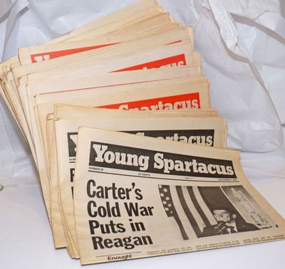 New York: Spartacus Youth Publishing Co, 1986. Newspaper. Forty-six issues of the newspaper, spannin...