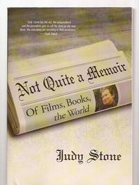 image of NOT QUITE A MEMOIR: OF FILMS, BOOKS, THE WORLD