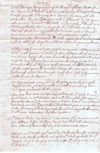 Legal Opinion Signed, concerning the Royal Manor of Kings Norton, (Thomas, 1657-1704, from 1700...