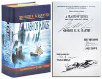 A CLASH OF KINGS: BOOK TWO OF A SONG OF ICE AND FIRE - LIMITED EDITION, SIGNED by Martin, George R.R. (novel); Howe, John (illustrations); Keegan, Charles (sigils & maps) - 2003