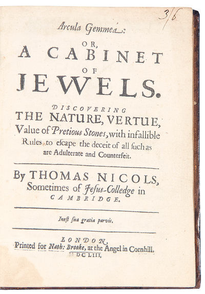 Arcula Gemmea: or, A Cabinet of...
