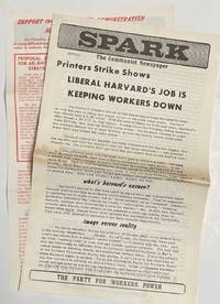 image of Spark: The Communist Newspaper. Extra: Printers strike shows Liberal Harvard's job is keeping workers down
