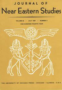 Journal of Near Eastern Studies (Vol 46, July 1987, No. 3)