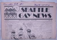 image of Seattle Gay News: vol. 5, #16, September 1, 1978: Cops Bust Two at Tubs