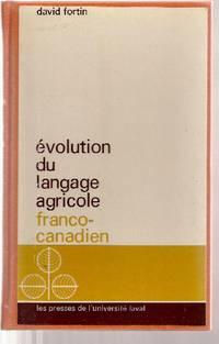 Évolution du langage agricole franco-canadien