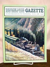 image of NARROW GAUGE AND SHORT LINE GAZETTE - NOVEMBER/DECEMBER, 1986; VOLUME 12, NUMBER 5.